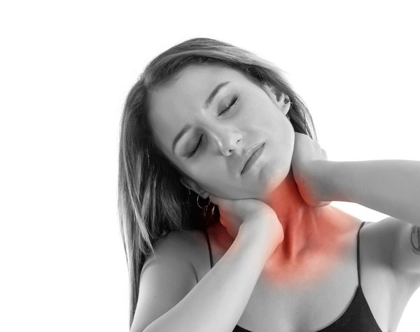 Neck hernia can affect neck straightening